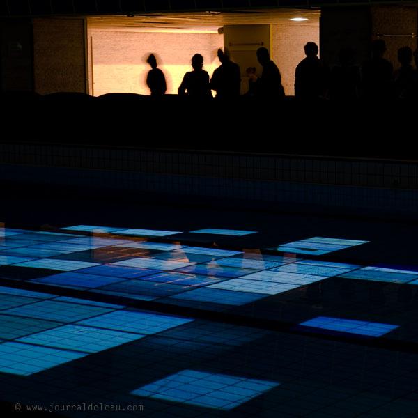 Nuit blanche la piscine armand massard for Piscine montparnasse