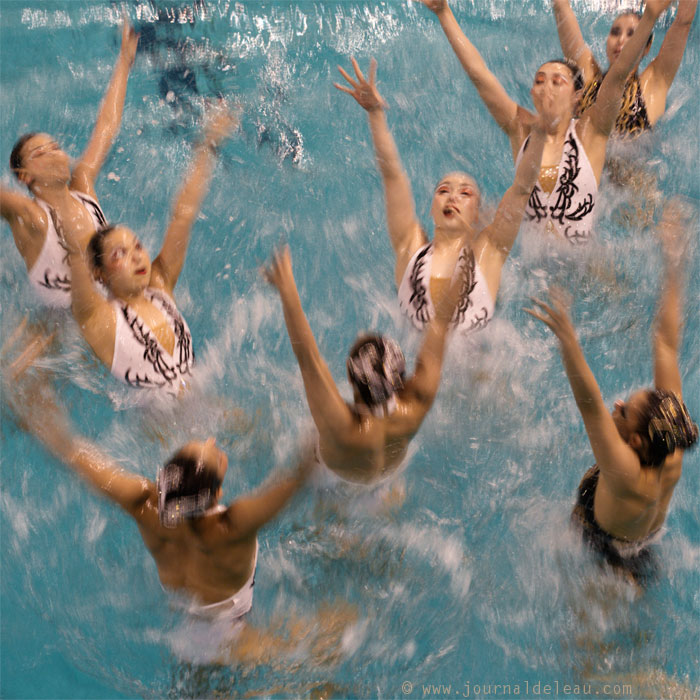 japan synchronized swimming combo