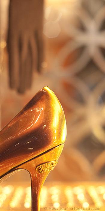 Chaussure de cendrillon louis vuittton - Illumination a paris ...